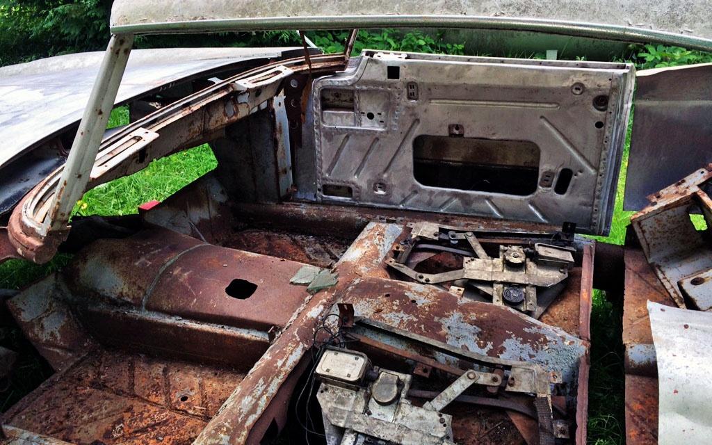 BMW 503 Coupe Interior