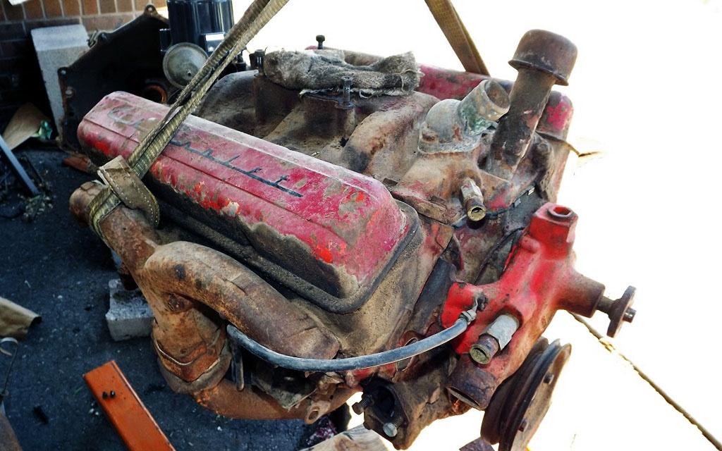 Chevrolet V on 1957 Chevy 235 Engine