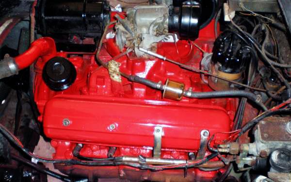 Corvette Clone V8 motor
