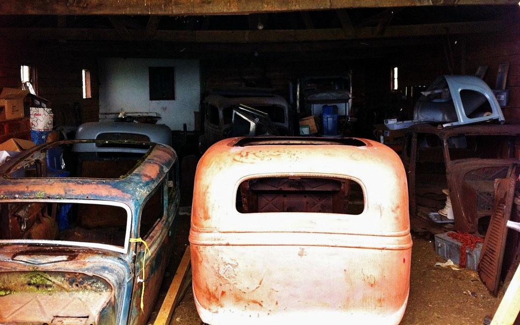 Ford Model 40 Barn