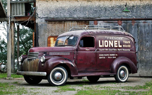 Lionel Train House Find 1946 Chevy Panel Truck
