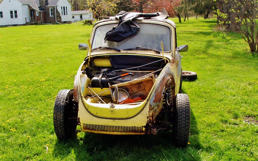 Max's VW Beetle