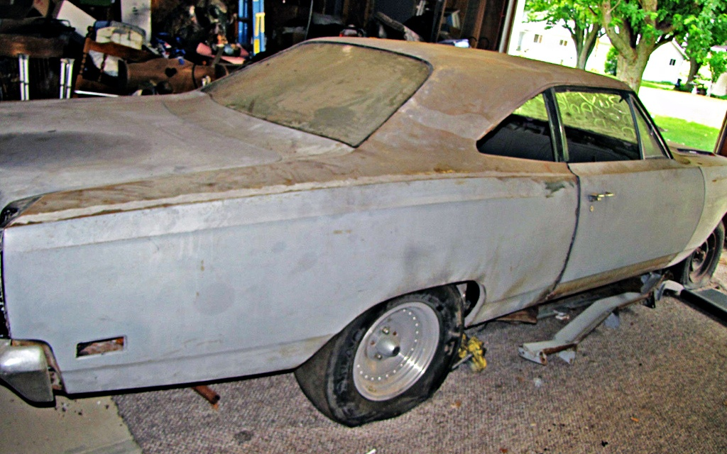 Finally Letting Go: 1969 Plymouth Road Runner