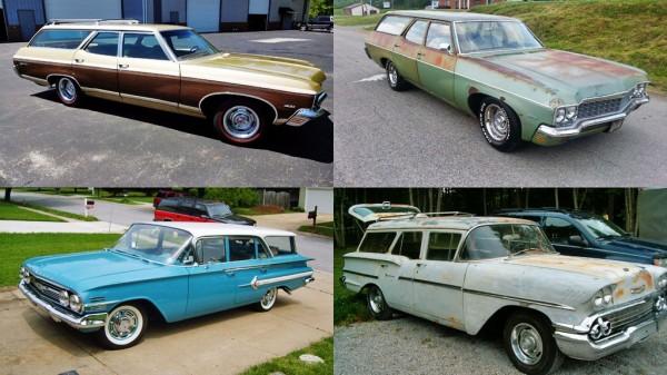 Wagon Wednesday's Chevys