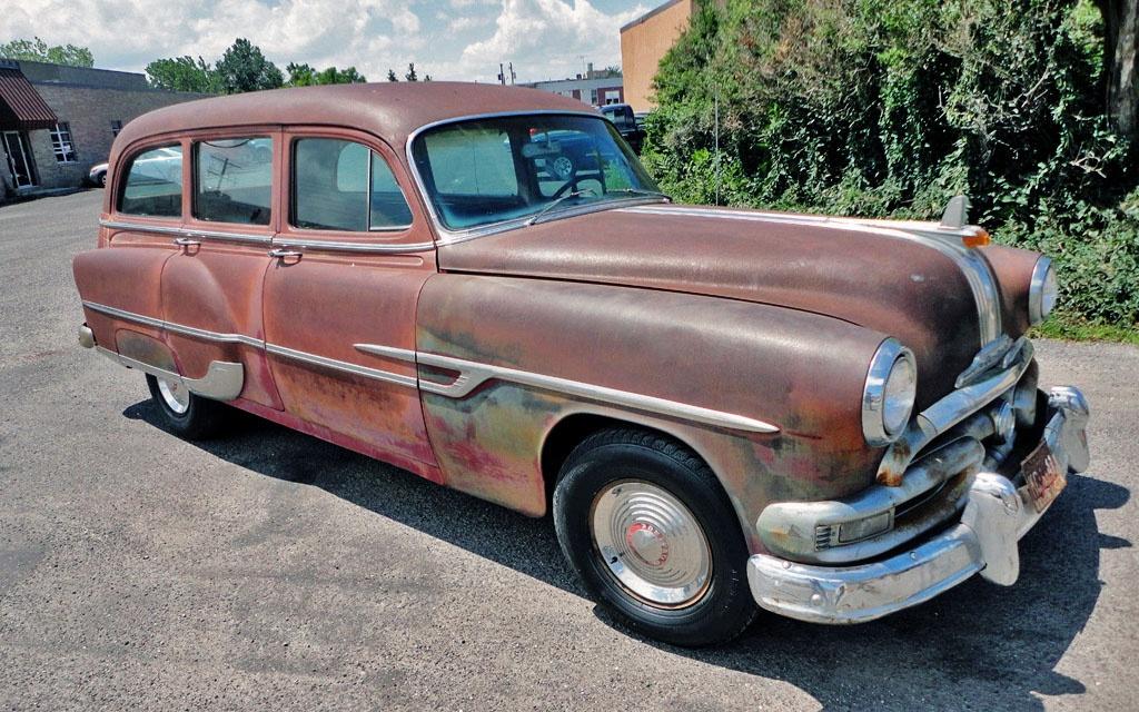 Tin Woody 1953 Pontiac Chieftain Deluxe Wagon
