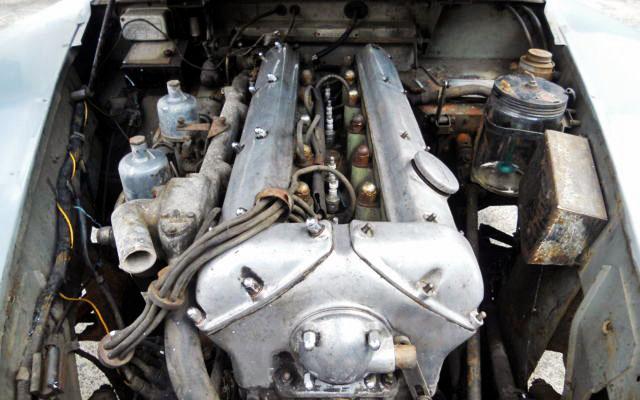 1957 Jaguar XK 150 Engine