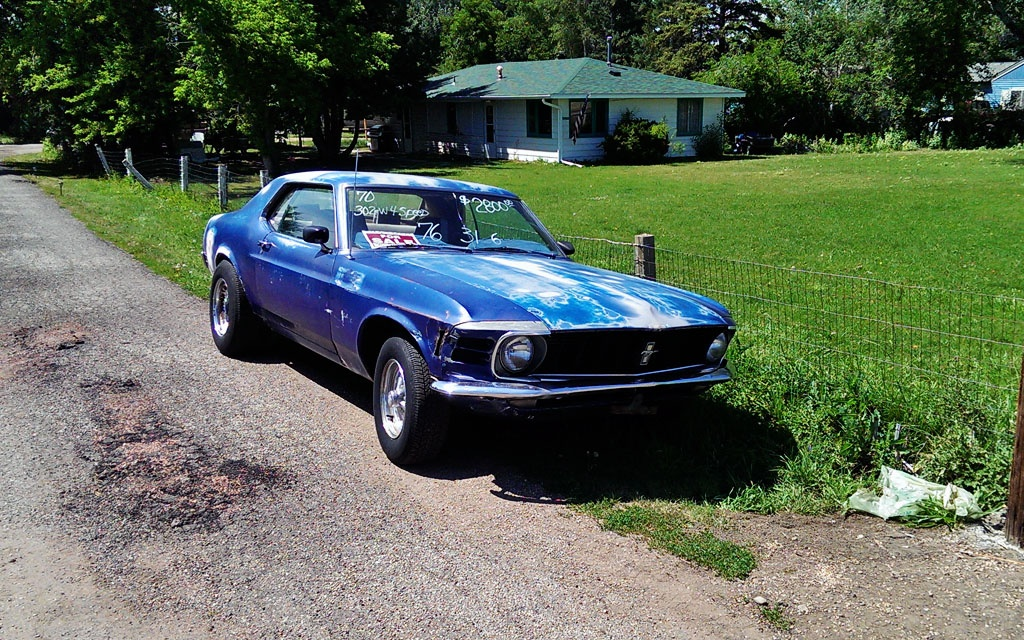 1970 Mustang Coupe