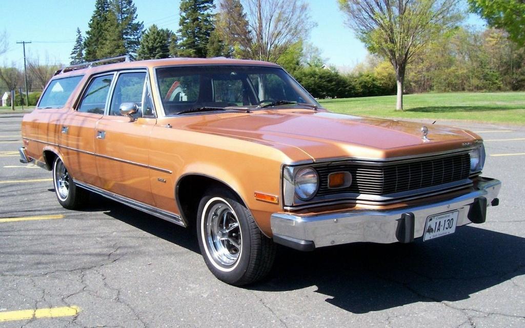 Seller Car >> Coffin Nose: 1977 AMC Matador Wagon