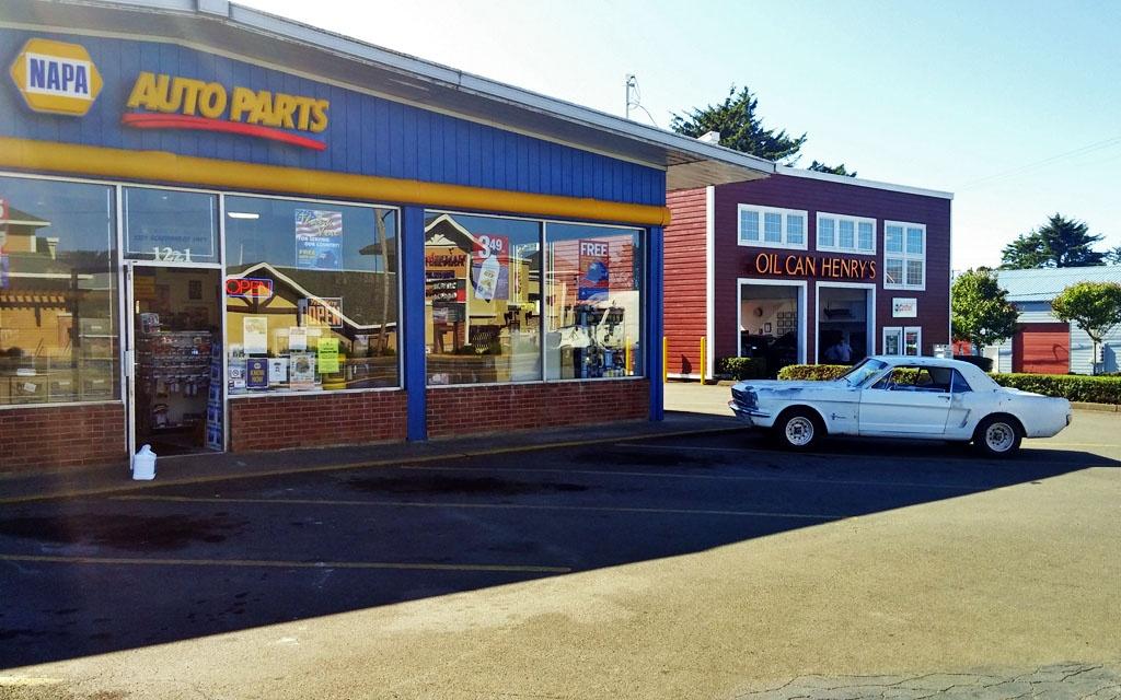 Mustang at the Parts Store