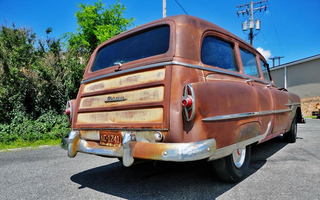 Tin Woody  Pontiac Chieftain Deluxe Wagon