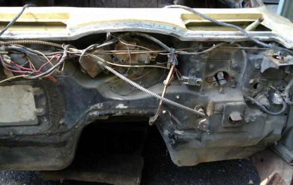 1963 Corvette Coupe Firewall