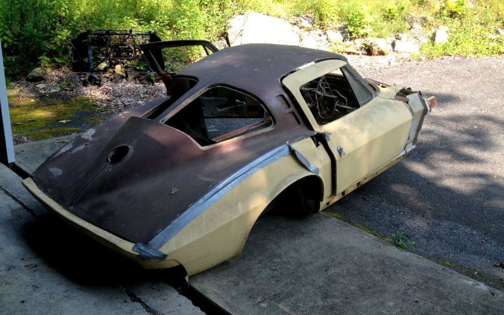 1963 Corvette Coupe Roof