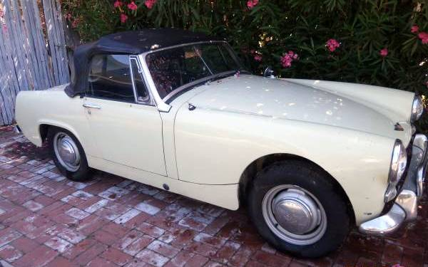 Car Paint Shops Prices >> Affordable Fun: 1965 Austin-Healey Sprite