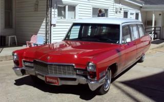1968 Cadillac Park Row Ambulance