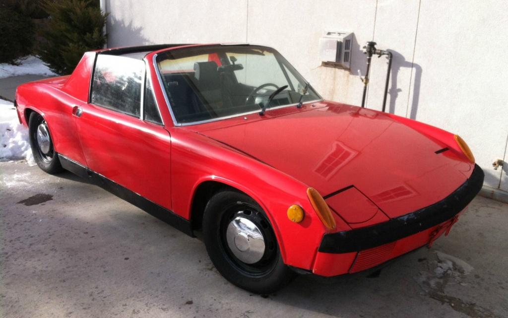 1971 Porsche 914 For 2 500