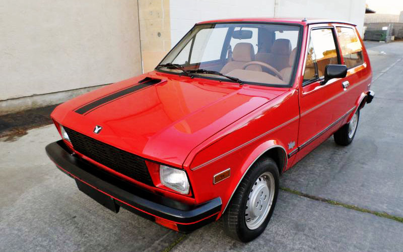 Barn Find Cars >> The Best Worst Car Ever: 1986 Yugo GV