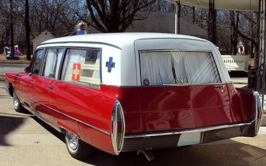 Big Amp Odd 1968 Cadillac Park Row Ambulance