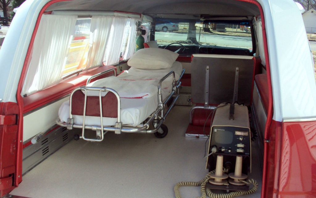 Big & Odd: 1968 Cadillac Park Row Ambulance