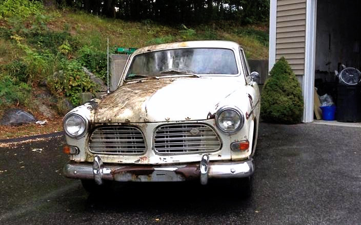 Cleaned Volvo 122S