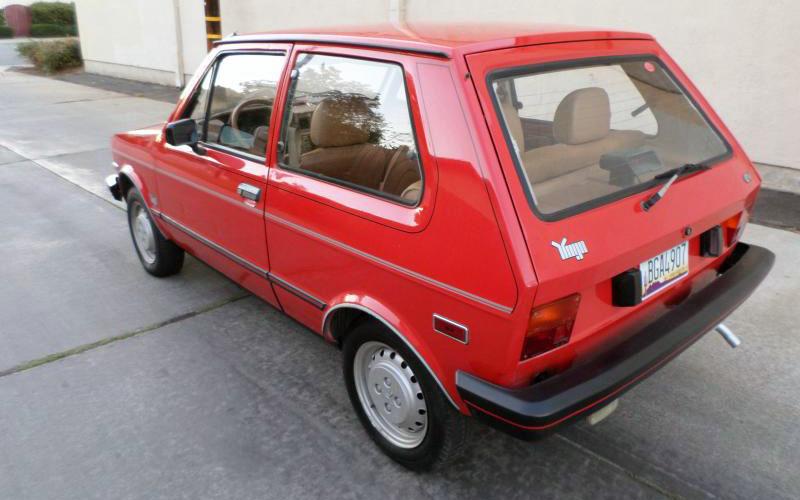 Best Car Warranty >> The Best Worst Car Ever: 1986 Yugo GV