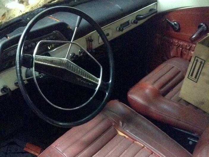 Volvo 122S Interior