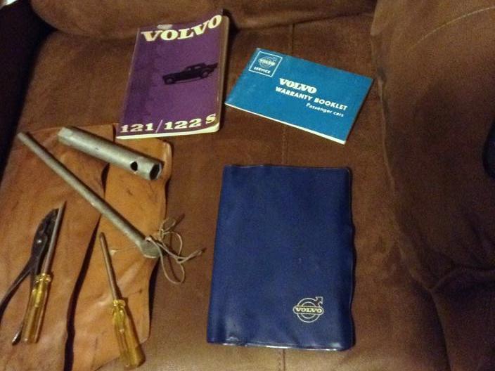 Volvo 122S Manuals