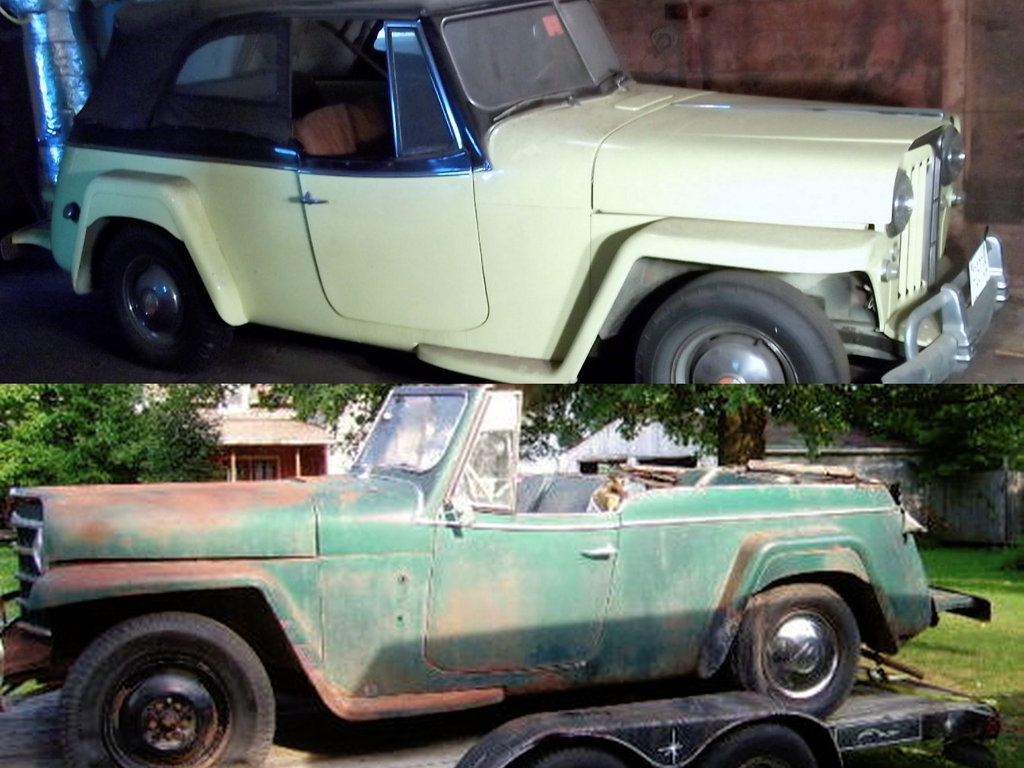 Willys Jeepsters