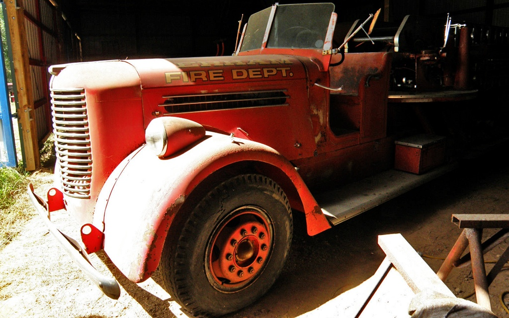 1940 Pirsch Fire Engine