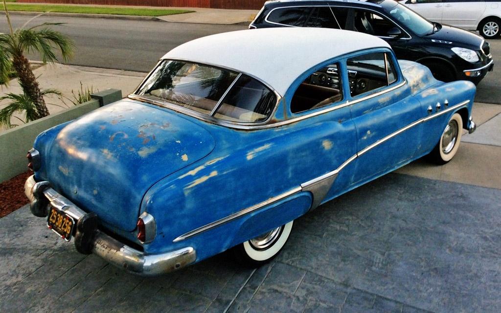 Not quite original 1951 buick special for 1951 buick special 4 door