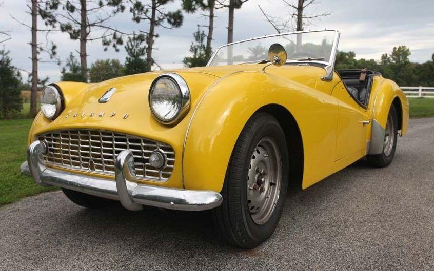 Driver Quality 1962 Triumph Tr3
