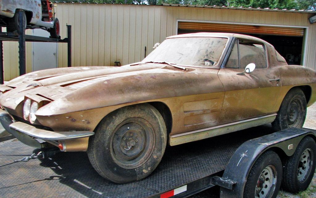 Split Window Gamble 1963 Corvette Coupe