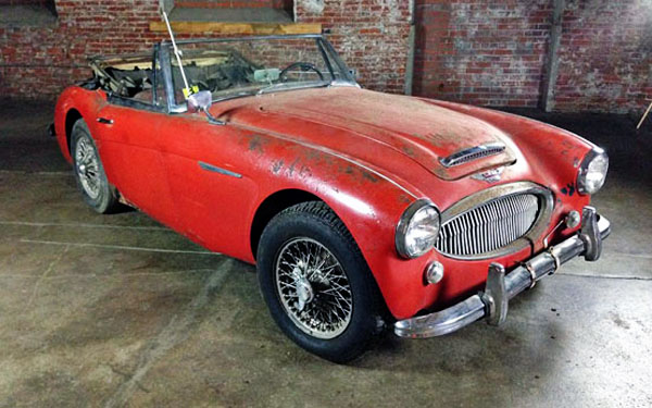 still for sale 1965 austin healey 3000. Black Bedroom Furniture Sets. Home Design Ideas