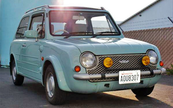 Retro Before It Was Cool: 1989 Nissan Pao
