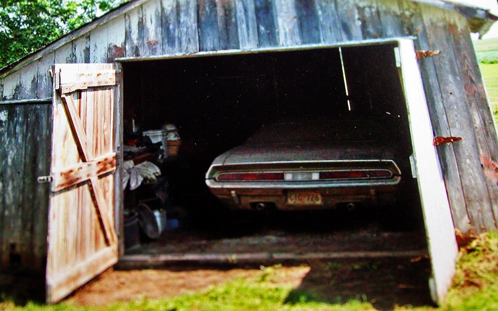 Challenger RT in the Barn