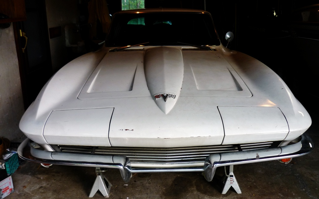 West Coast Corvette >> Rick's 1964 Corvette Garage Find