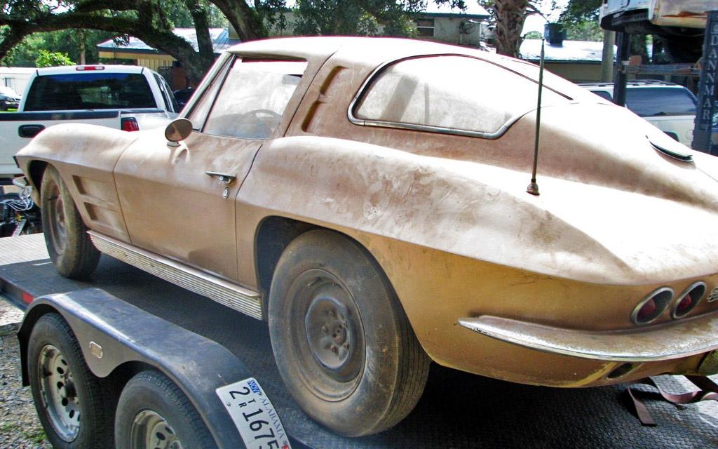 Split window gamble 1963 corvette coupe for 1967 split window corvette for sale