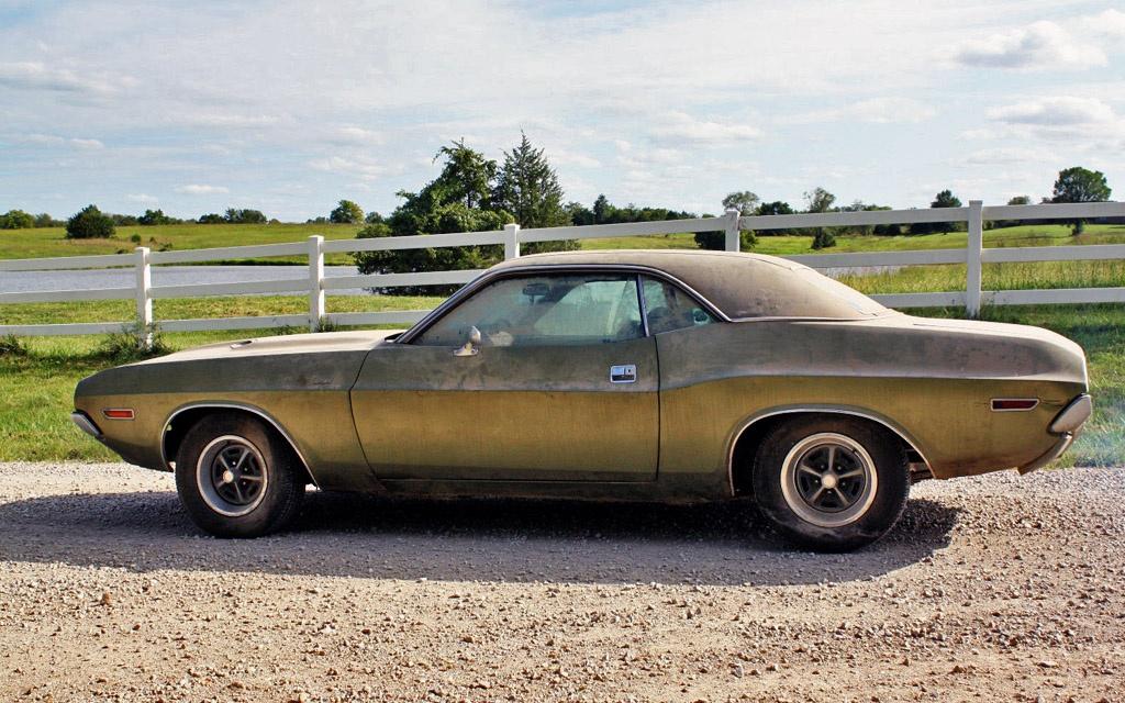 1970 Dodge Challenger R T Barn Find