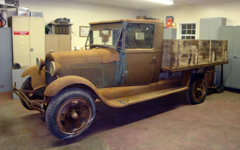 Preservation Restoration 1929 Ford Model Aa