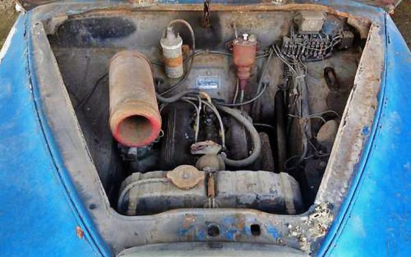 Lancia Appia V4 Motor
