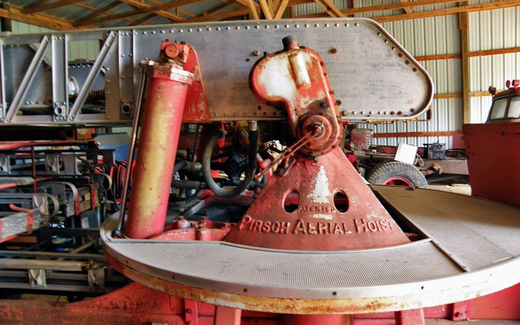 Herclean Find 1940 Pirsch Fire Truck