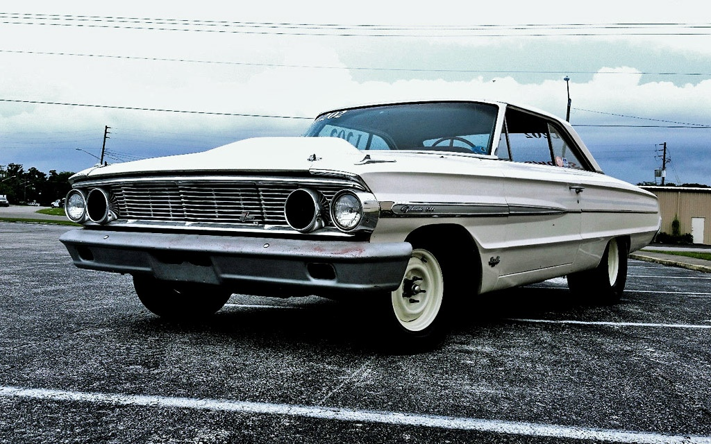 Retired Galaxie Dragster