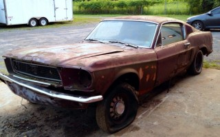 Swayback 1968 Mustang GT