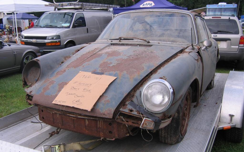 Roadside Find 1966 Porsche 911