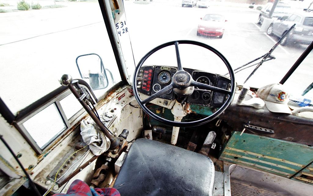 1954 SceniCruiser Driver's Seat