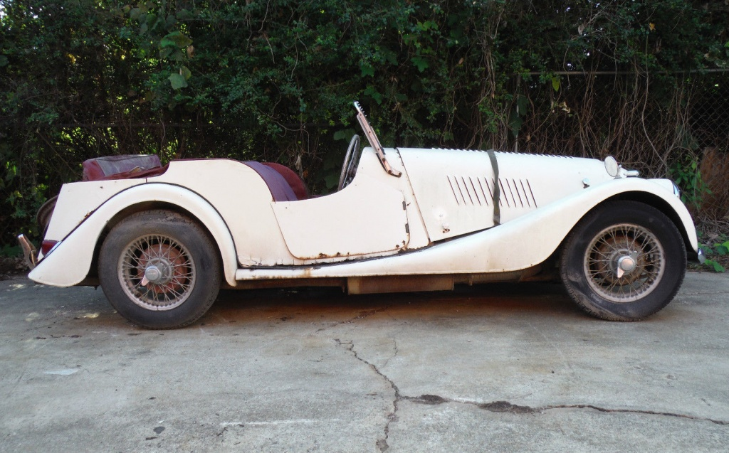 Possible Rally Car 1959 Morgan Plus 4