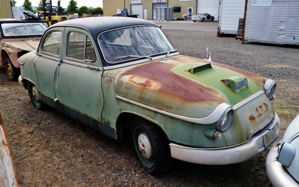 French Oddity 1960 Panhard Pl 17