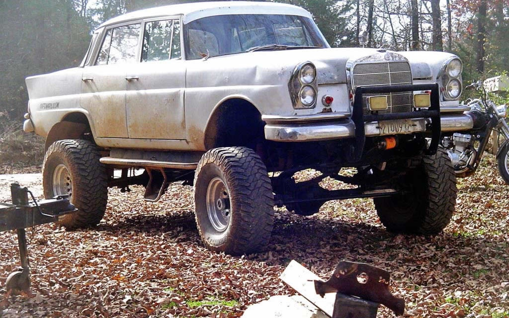 Junk Cars For Sale >> 1961 Mercedes... Eh Monster Truck?