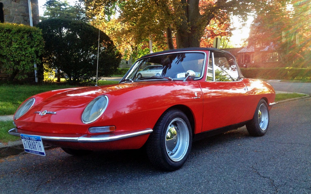 Ready For Fun 1967 Abarth 1000 Ot Spider