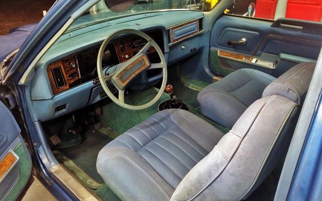 AMC Pacer Interior