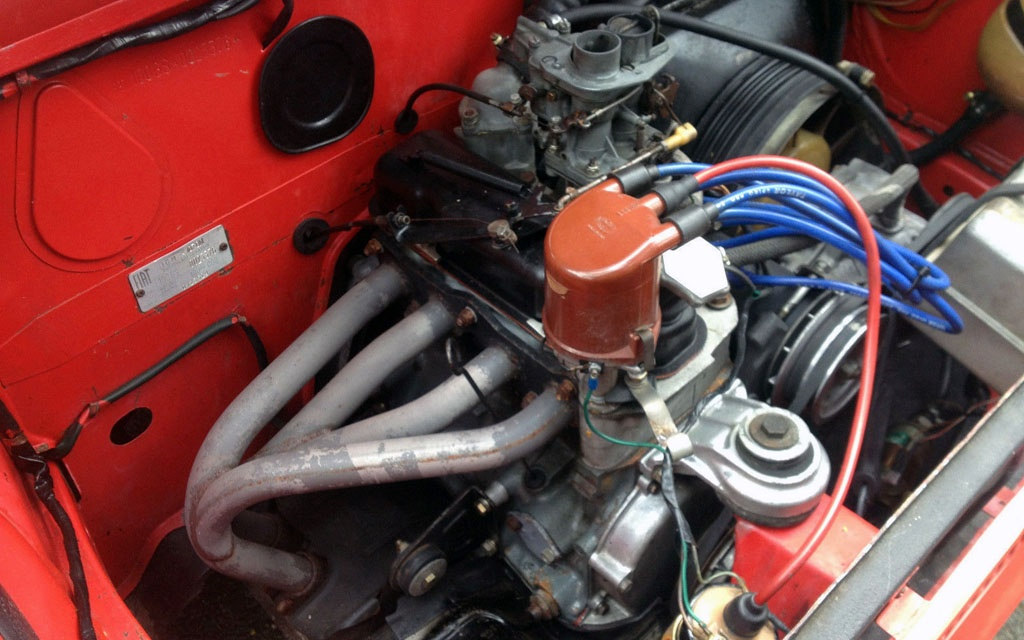 Abarth 1000 Motor